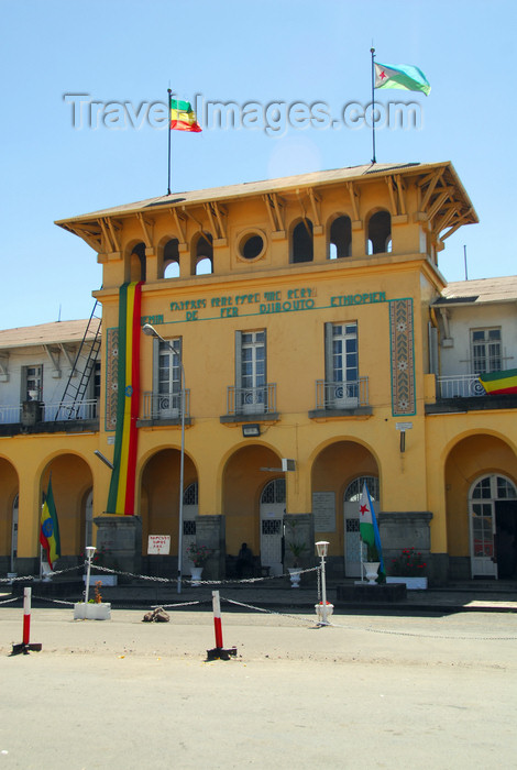 ethiopia151: Addis Ababa, Ethiopia: main train station - La Gare - Chemin de Fer Djibouto-Ethiopien - Djibouti-Ethiopia Railway - photo by M.Torres - (c) Travel-Images.com - Stock Photography agency - Image Bank