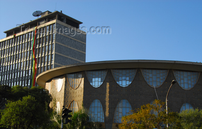 ethiopia153: Addis Ababa, Ethiopia: Commercial Bank of Ethiopia - Churchill avenue - photo by M.Torres - (c) Travel-Images.com - Stock Photography agency - Image Bank