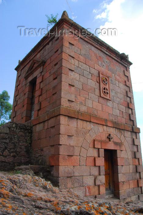 ethiopia163: Lalibela, Amhara region, Ethiopia: Italian built chapel near Bet Maryam church - photo by M.Torres - (c) Travel-Images.com - Stock Photography agency - Image Bank
