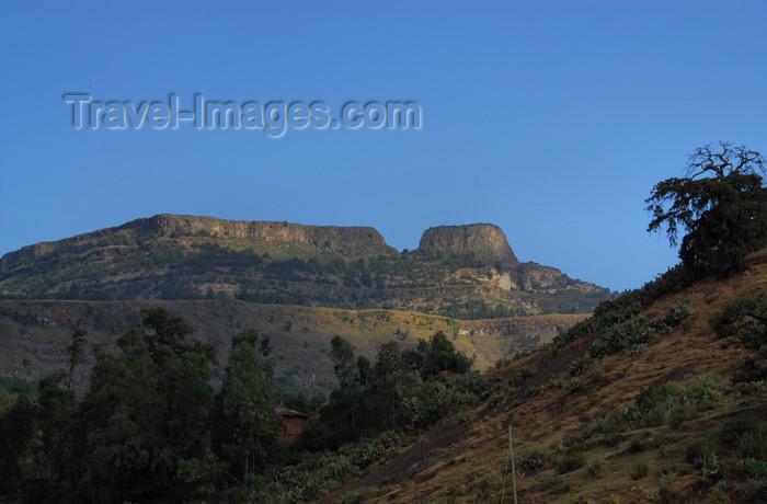 ethiopia177: Lalibela, Amhara region, Ethiopia: Mount Abuna Yosef - photo by M.Torres - (c) Travel-Images.com - Stock Photography agency - Image Bank