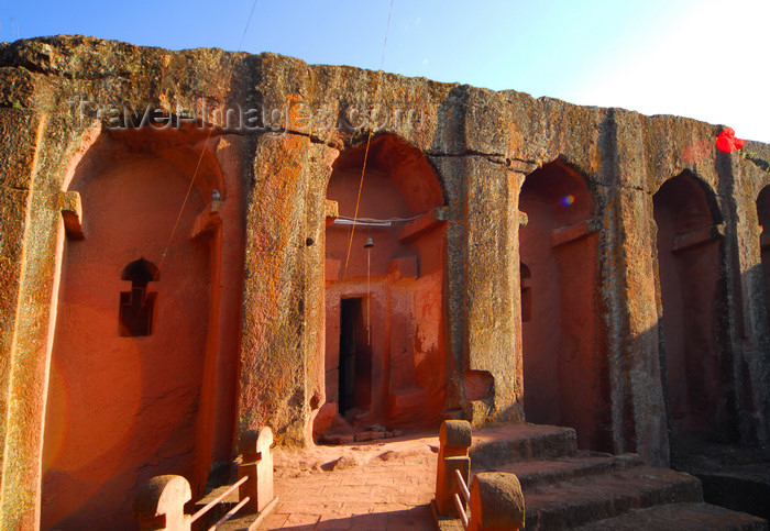 ethiopia194: Lalibela, Amhara region, Ethiopia: Bet Gabriel-Rufael / church of the archangels Gabriel and Raphael - Southeastern group of churches - photo by M.Torres - (c) Travel-Images.com - Stock Photography agency - Image Bank
