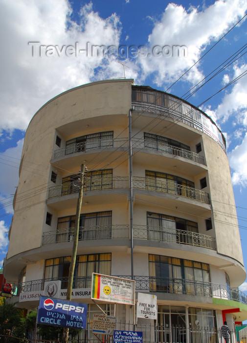 ethiopia224: Gondar, Amhara Region, Ethiopia: Circle Hotel - photo by M.Torres - (c) Travel-Images.com - Stock Photography agency - Image Bank