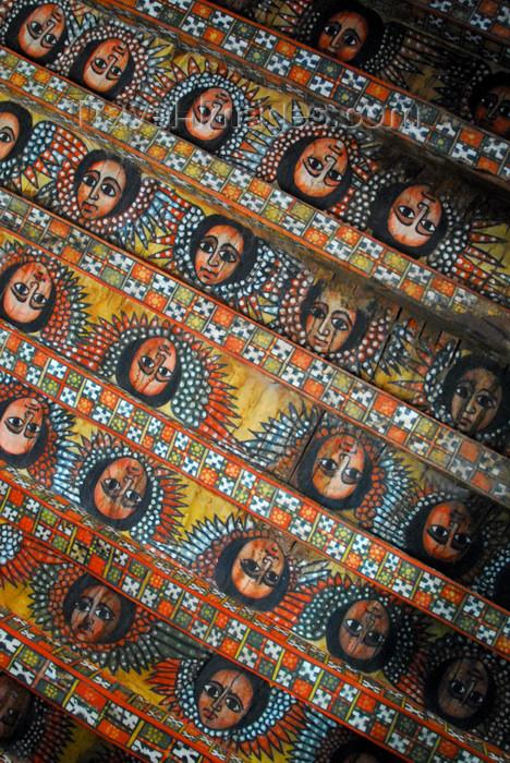 ethiopia250: Gondar, Amhara Region, Ethiopia: Debre Berham Selassie church - Ethiopian angels - photo by M.Torres - (c) Travel-Images.com - Stock Photography agency - Image Bank