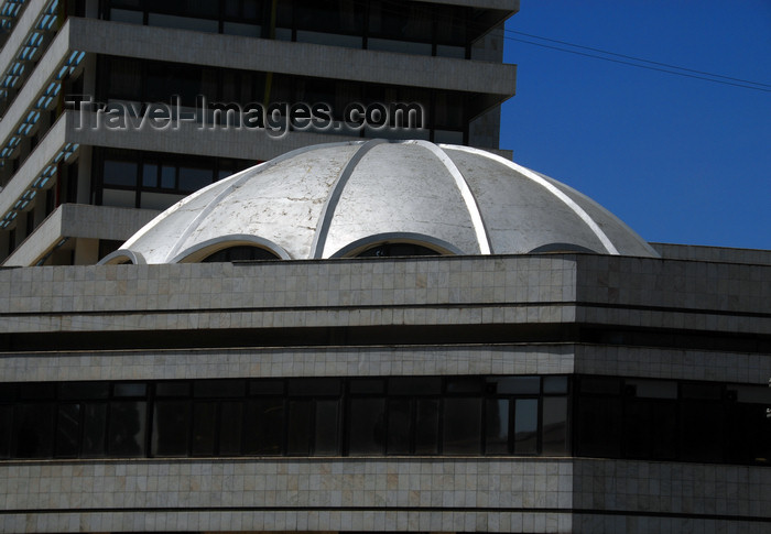 ethiopia28: Addis Ababa, Ethiopia: Ethiopian Insurance Co. - Ras Mekonen av - corner Gambia st - silver dome - architects: National Consultants - photo by M.Torres - (c) Travel-Images.com - Stock Photography agency - Image Bank