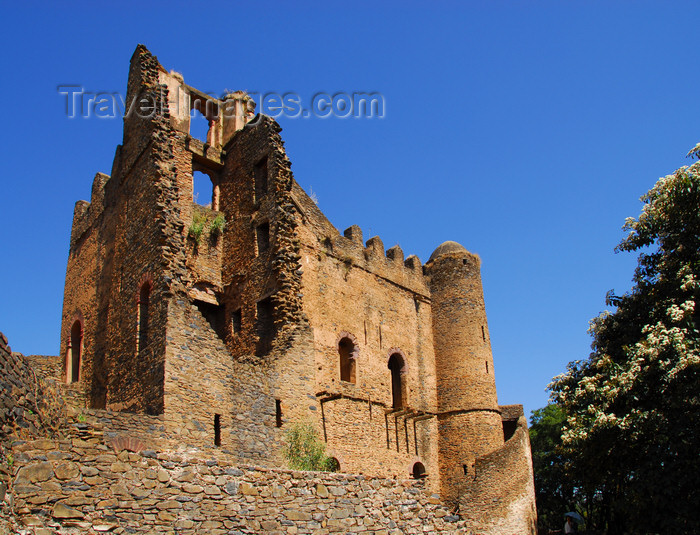 ethiopia286: Gondar, Amhara Region, Ethiopia: Royal Enclosure - Iyasu palace - photo by M.Torres - (c) Travel-Images.com - Stock Photography agency - Image Bank