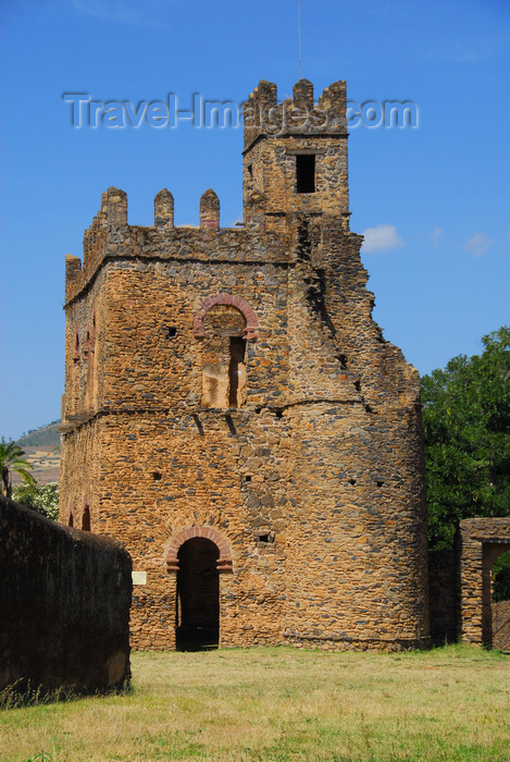 ethiopia292: Gondar, Amhara Region, Ethiopia: Royal Enclosure - Fasiladas' Archive or Chancellery - photo by M.Torres - (c) Travel-Images.com - Stock Photography agency - Image Bank