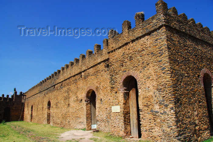 ethiopia293: Gondar, Amhara Region, Ethiopia: Royal Enclosure - Bakaffa's palace Banqueting hall - photo by M.Torres - (c) Travel-Images.com - Stock Photography agency - Image Bank