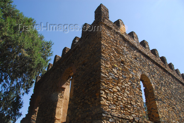 ethiopia298: Gondar, Amhara Region, Ethiopia: Royal Enclosure - castle of Emperor Dawit, son of Iyasu - photo by M.Torres - (c) Travel-Images.com - Stock Photography agency - Image Bank