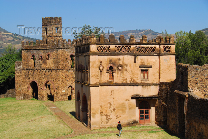 ethiopia304: Gondar, Amhara Region, Ethiopia: Royal Enclosure - Yohannes Library and Fasiladas' archive - photo by M.Torres - (c) Travel-Images.com - Stock Photography agency - Image Bank