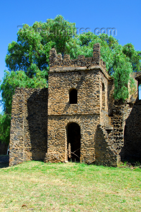 ethiopia313: Gondar, Amhara Region, Ethiopia: Royal Enclosure - Turkish bath - wesheba - a detail in the luxurious life-style of the Abyssian kings - photo by M.Torres - (c) Travel-Images.com - Stock Photography agency - Image Bank