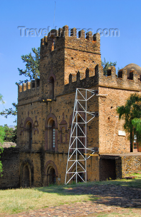 ethiopia314: Gondar, Amhara Region, Ethiopia: Royal Enclosure - Mantewab's castle - photo by M.Torres - (c) Travel-Images.com - Stock Photography agency - Image Bank