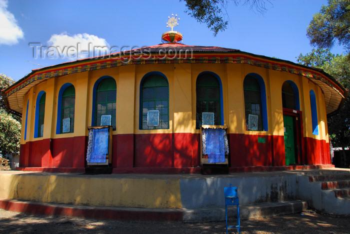 ethiopia316: Gondar, Amhara Region, Ethiopia: Royal Enclosure - Gemjabet Maryam church - photo by M.Torres - (c) Travel-Images.com - Stock Photography agency - Image Bank