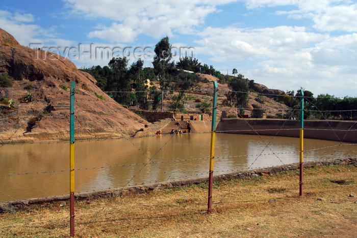ethiopia339: Axum - Mehakelegnaw Zone, Tigray Region: Queen of Sheba's bath - photo by M.Torres - (c) Travel-Images.com - Stock Photography agency - Image Bank