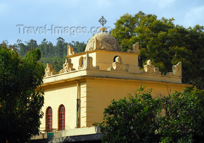 ethiopia344: Axum - Mehakelegnaw Zone, Tigray Region: St Mary of Zion complex - chapel - Ethiopian Orthodox Tewahedo Church - photo by M.Torres - (c) Travel-Images.com - Stock Photography agency - Image Bank