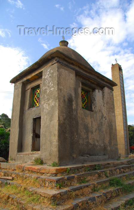 ethiopia345: Axum - Mehakelegnaw Zone, Tigray Region: St Mary of Zion complex - small shrine - photo by M.Torres - (c) Travel-Images.com - Stock Photography agency - Image Bank