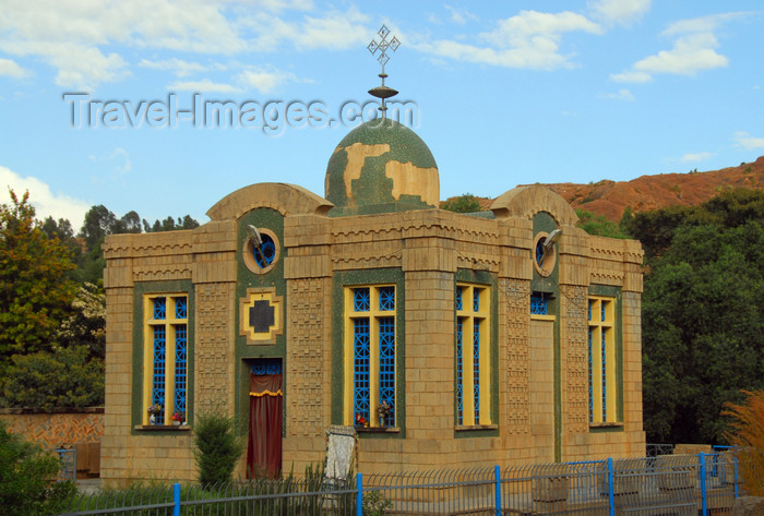 ethiopia346: Axum - Mehakelegnaw Zone, Tigray Region:  Chapel of the Tablets of Law - holds the Ark of the Covenant, containing the Ten Commandments - photo by M.Torres - (c) Travel-Images.com - Stock Photography agency - Image Bank