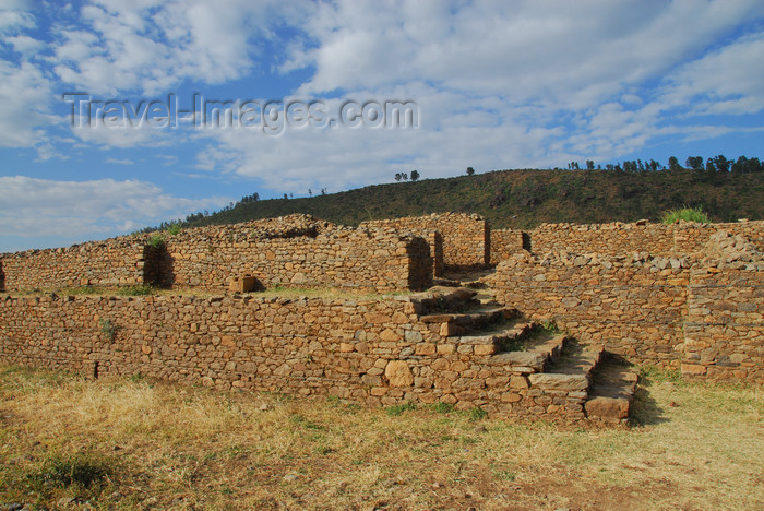 ethiopia350: Axum - Mehakelegnaw Zone, Tigray Region: Dungur - Queen of Sheba's palace - photo by M.Torres - (c) Travel-Images.com - Stock Photography agency - Image Bank
