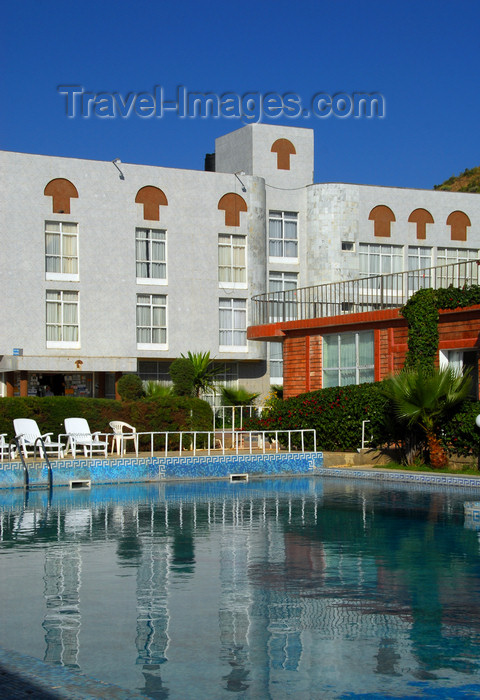 ethiopia360: Axum - Mehakelegnaw Zone, Tigray Region: Hotel Remhai - seen from the pool - photo by M.Torres - (c) Travel-Images.com - Stock Photography agency - Image Bank
