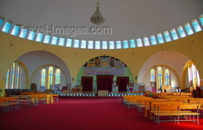 ethiopia365: Axum - Mehakelegnaw Zone, Tigray Region: Church of St Mary of Zion - interior - photo by M.Torres - (c) Travel-Images.com - Stock Photography agency - Image Bank