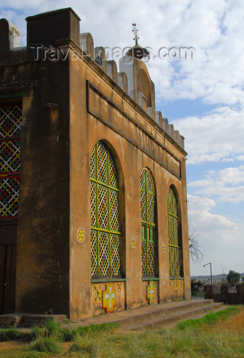 ethiopia369: Axum - Mehakelegnaw Zone, Tigray Region: Old Church of St Mary of Zion - photo by M.Torres - (c) Travel-Images.com - Stock Photography agency - Image Bank
