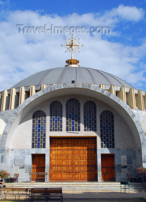 ethiopia370: Axum - Mehakelegnaw Zone, Tigray Region: Church of St Mary of Zion - built by Emperor Haile Selassie - photo by M.Torres - (c) Travel-Images.com - Stock Photography agency - Image Bank