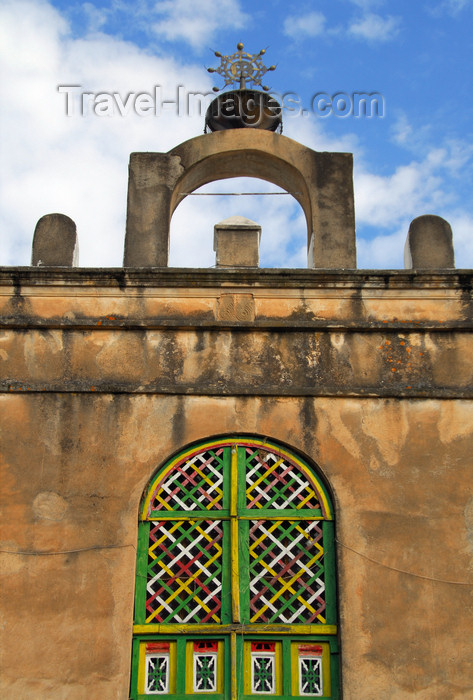 ethiopia371: Axum - Mehakelegnaw Zone, Tigray Region: OLd Church of St Mary of Zion - detail - photo by M.Torres - (c) Travel-Images.com - Stock Photography agency - Image Bank