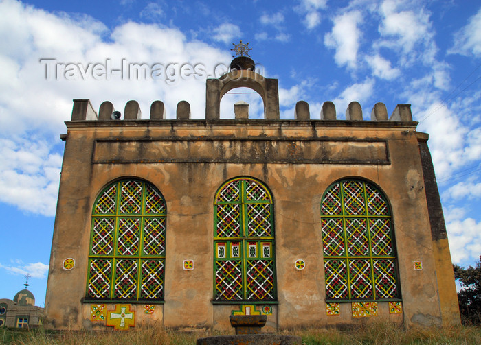 ethiopia380: Axum - Mehakelegnaw Zone, Tigray Region: Old Church of St Mary of Zion - 17th-century - photo by M.Torres - (c) Travel-Images.com - Stock Photography agency - Image Bank