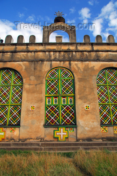 ethiopia382: Axum - Mehakelegnaw Zone, Tigray Region: Old Church of St Mary of Zion - built by Emperor Fasilidas - photo by M.Torres - (c) Travel-Images.com - Stock Photography agency - Image Bank