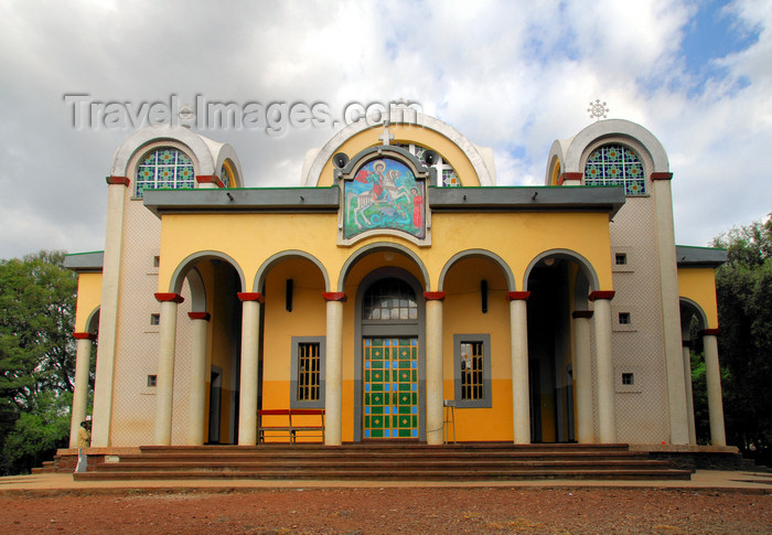 ethiopia426: Bahir Dar, Amhara, Ethiopia: St. George Church - photo by M.Torres - (c) Travel-Images.com - Stock Photography agency - Image Bank