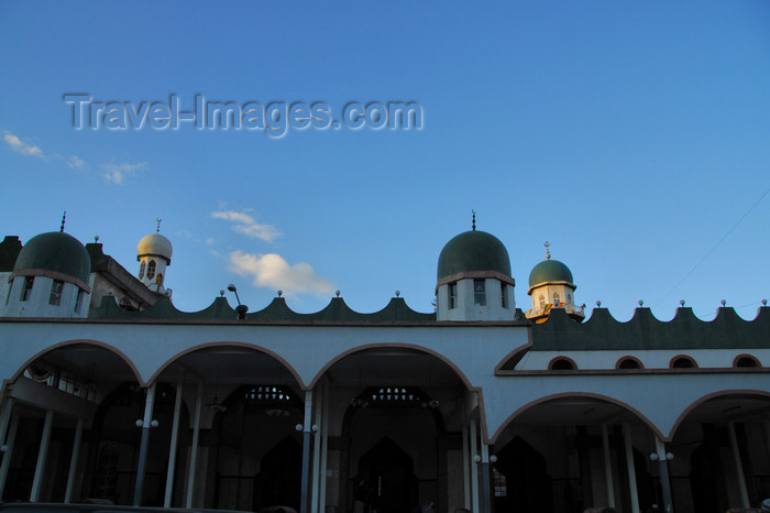 ethiopia44: Addis Ababa, Ethiopia: Anwar Mosque - main entrance - Merkato area - photo by M.Torres - (c) Travel-Images.com - Stock Photography agency - Image Bank