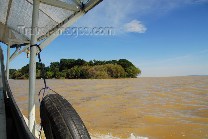 ethiopia471: Lake Tana, Amhara, Ethiopia: Kebran Gabriel Monastery - arriving - photo by M.Torres  - (c) Travel-Images.com - Stock Photography agency - Image Bank