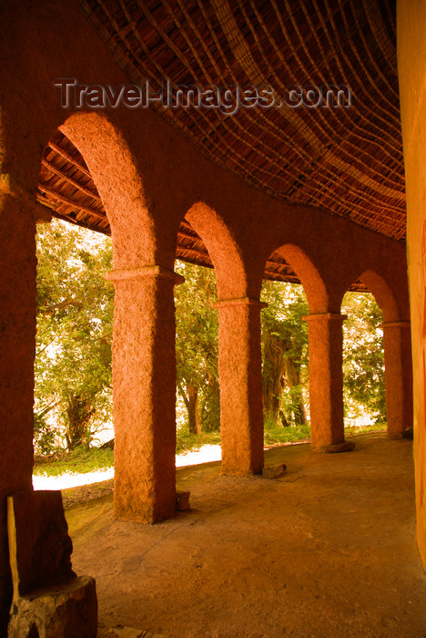 ethiopia487: Lake Tana, Amhara, Ethiopia: Kebran Gabriel Monastery - arches - photo by M.Torres  - (c) Travel-Images.com - Stock Photography agency - Image Bank