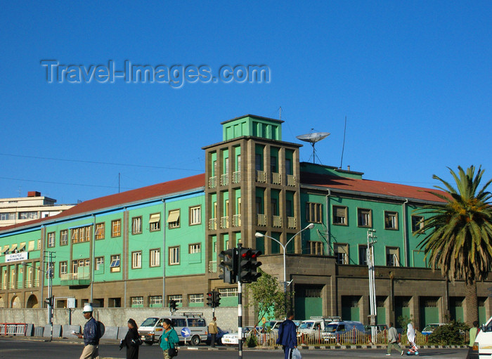 ethiopia49: Addis Ababa, Ethiopia: Ethiopian Ministry of Defence - Churchill avenue - photo by M.Torres - (c) Travel-Images.com - Stock Photography agency - Image Bank