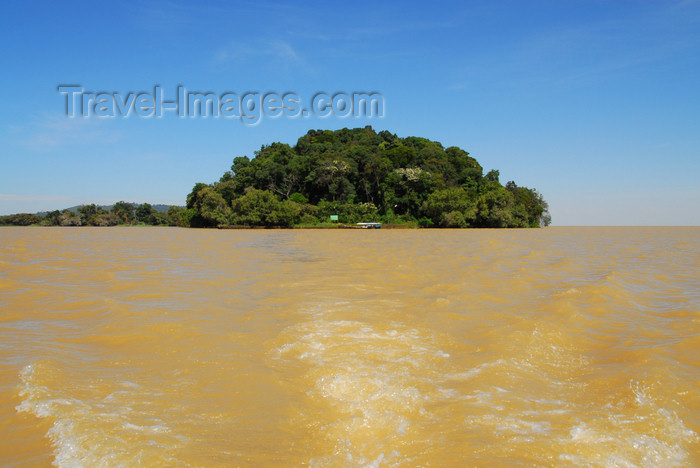 ethiopia492: Lake Tana, Amhara, Ethiopia: Kebran Gabriel Monastery - leaving the island - photo by M.Torres  - (c) Travel-Images.com - Stock Photography agency - Image Bank