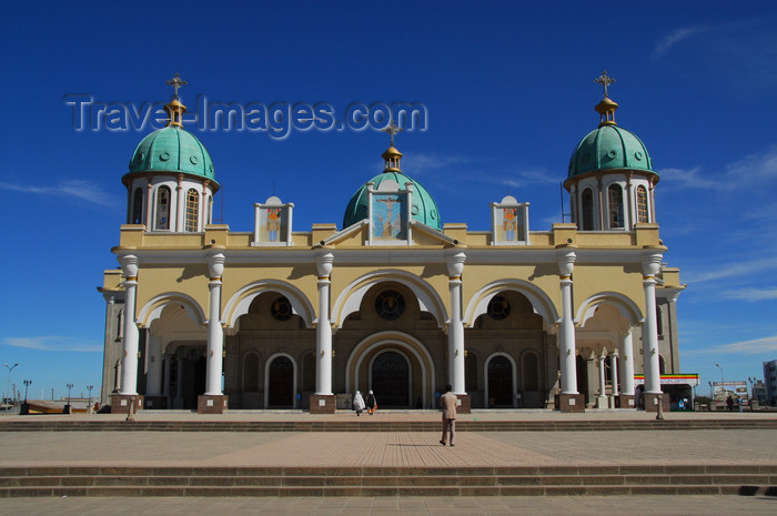 ethiopia57: Addis Ababa, Ethiopia: Bole Medhane Alem Cathedral - dedicated to Christ, Saviour of the World - photo by M.Torres - (c) Travel-Images.com - Stock Photography agency - Image Bank
