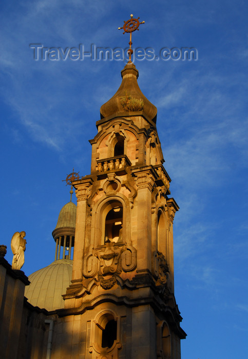 ethiopia66: Addis Ababa, Ethiopia: Holy Trinity Cathedral - bell tower - photo by M.Torres - (c) Travel-Images.com - Stock Photography agency - Image Bank