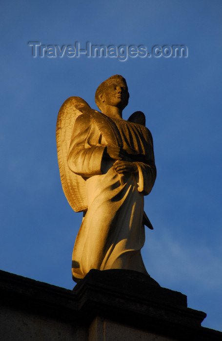 ethiopia67: Addis Ababa, Ethiopia: Holy Trinity Cathedral - angel on the roof - photo by M.Torres - (c) Travel-Images.com - Stock Photography agency - Image Bank