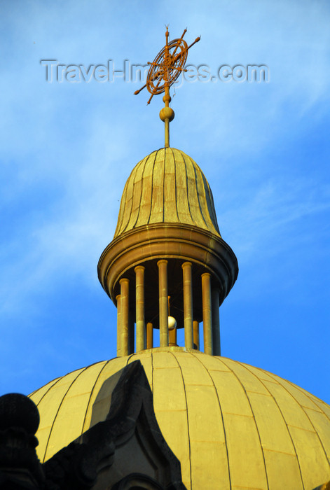 ethiopia69: Addis Ababa, Ethiopia: Holy Trinity Cathedral - dome with cupola - photo by M.Torres - (c) Travel-Images.com - Stock Photography agency - Image Bank