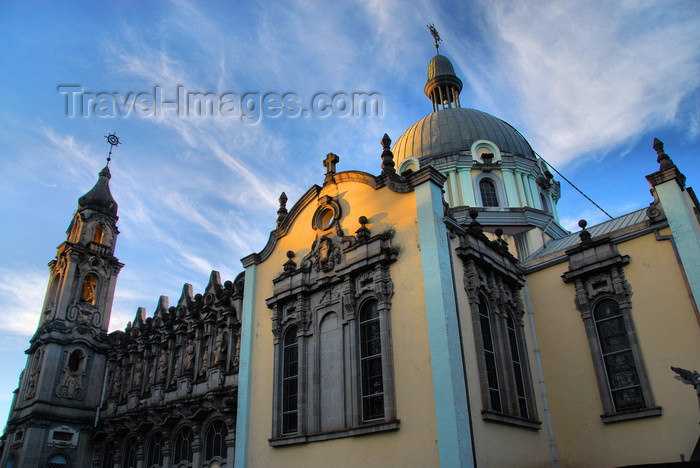 ethiopia71: Addis Ababa, Ethiopia: Holy Trinity Cathedral - south facade and dome - photo by M.Torres - (c) Travel-Images.com - Stock Photography agency - Image Bank