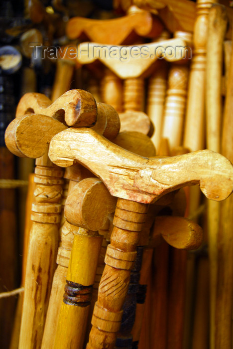ethiopia90: Addis Ababa, Ethiopia: merkato - dulas - wooden staffs used by Amhara men - photo by M.Torres - (c) Travel-Images.com - Stock Photography agency - Image Bank