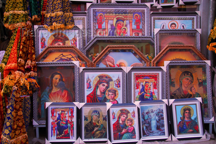 ethiopia95: Addis Ababa, Ethiopia: merkato - Orthodox icons -  photo by M.Torres - (c) Travel-Images.com - Stock Photography agency - Image Bank