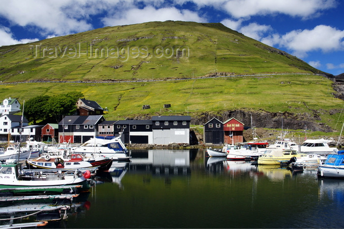 faeroe97: Vestmanna, Streymoy island, Faroes: the harbour is at the end on a sheltered inlet - photo by A.Ferrari - (c) Travel-Images.com - Stock Photography agency - Image Bank