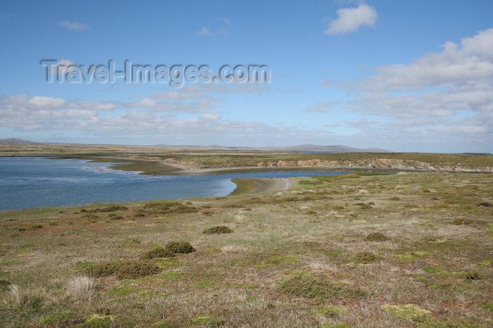 falkland25: Falkland islands - East Falkland - Port Louis - Berkeley Sound - photo by Christophe Breschi - (c) Travel-Images.com - Stock Photography agency - Image Bank