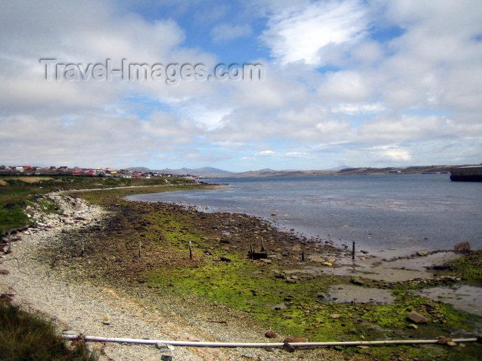 falkland3: Falkland islands / Ilhas Malvinas - East Falkland - Stanley: the beach - photo by C.Breschi - (c) Travel-Images.com - Stock Photography agency - Image Bank