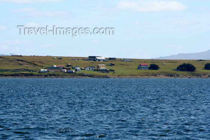 falkland35: Falkland islands - East Falkland - Port Louis - the settlement - photo by Christophe Breschi - (c) Travel-Images.com - Stock Photography agency - Image Bank