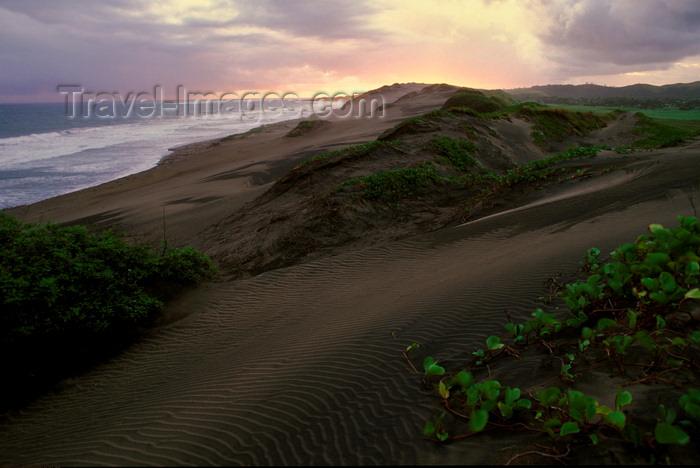 fiji10: Sigatoka Dunes, Coral Coast, Viti Levu, Fiji: dunes on the Coral Coast south of Kulukulu Village with stormy sky - photo by C.Lovell - (c) Travel-Images.com - Stock Photography agency - Image Bank