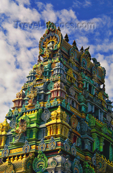 fiji26: Fiji Hindu Temple, Denarau Island - (c) Travel-Images.com - Stock Photography agency - Image Bank