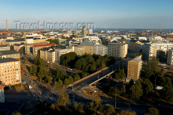fin132: Finland - Helsinki, panorama view into the city - photo by Juha Sompinmäki - (c) Travel-Images.com - Stock Photography agency - Image Bank