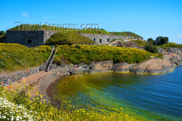 fin140: Helsinki, Finland: Suomenlinna / Sveaborg sea fortress - UNESCO World Heritage Site - photo by Juha Sompinmäki - (c) Travel-Images.com - Stock Photography agency - Image Bank