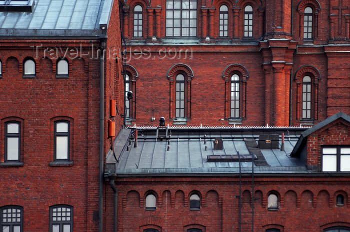 fin143: Finland - Helsinki, the red Orthodox church detail - photo by Juha Sompinmäki - (c) Travel-Images.com - Stock Photography agency - Image Bank